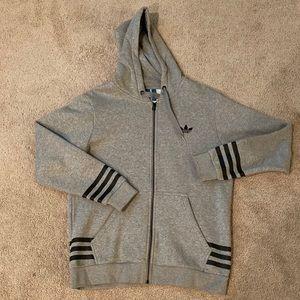 Adidas Originals zip-up hoodie sweatshirt new